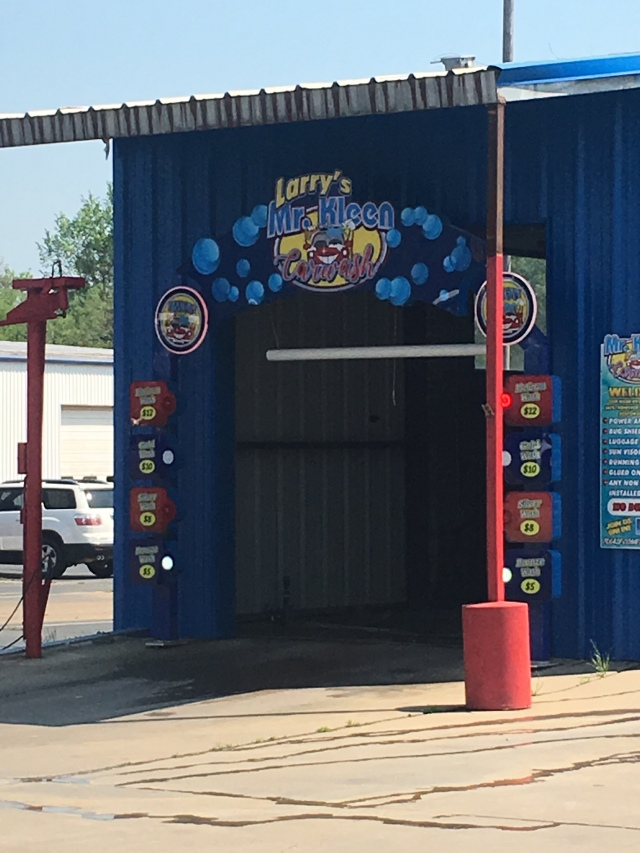 Creepy car wash