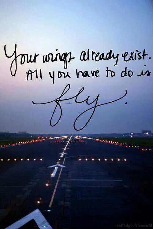 Learning to fly quote